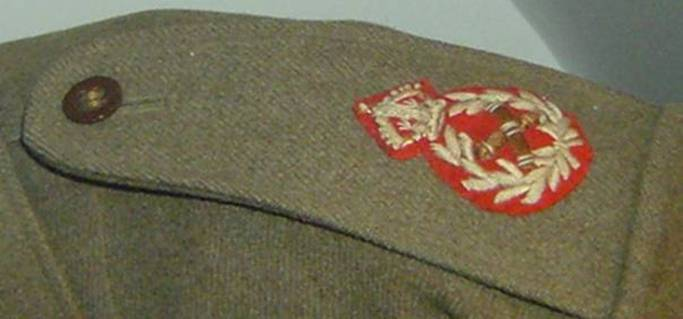 UK British Army Field Marshal General Uniform Rank Badge